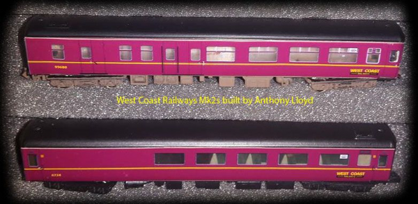 West Coast Railway Pathfinder Charter set